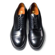 56610 | ALDEN | THE LAKOTA HOUSE Cap Toe Ox. Last:Modified Material:Calf Color:Black Width:D Sole:Single Leather Made in U.S.A.