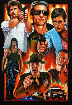 Back to the Movies: Action 80's' - Christian Romani