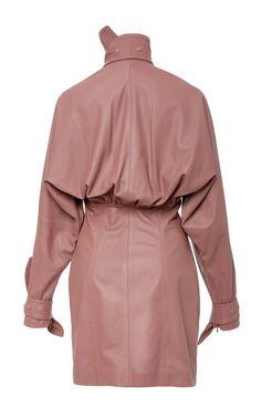 Tempest Leather Corset Mini Dress by Zimmermann Leather Corset, Raincoat, Spring, Jackets, Collection, Dresses, Women, Fashion, Rain Jacket