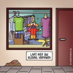 Laat hier uw kleding vermaken - Evert Kwok