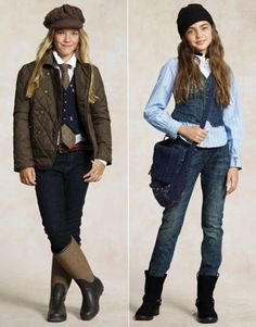 Tween fashion Is it just me or does the girl on the right look like Julianne Barron? Spring Fashion Trends, Fashion 101, School Fashion, Women's Fashion, Fashion Stores, Fashion Clothes, Dresses For Tweens, Outfits For Teens, Girl Outfits