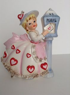 Hey, I found this really awesome Etsy listing at https://www.etsy.com/listing/208792587/vintage-relpo-girl-with-valentine-at