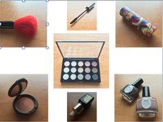 El tema de objetos que escojí para este proyecto es maquillaje. Tenia 7 objetos en total. Una paleta de sombras, una brocha de rubor, rimel, labial, esmalte, y crema. Al final, termine elijiendo la paleta de mac por que tenía la mayoría de atributos y características.