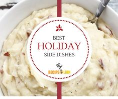 What's a Thanksgiving feast without sides? Not much of a feast, in our opinion. Load up on sides with these unbeatable recipes! Best Thanksgiving Side Dishes, Stuffing Recipes For Thanksgiving, Holiday Side Dishes, Best Side Dishes, Thanksgiving Feast, Side Dish Recipes, Holiday Treats, Holiday Recipes, Christmas Recipes