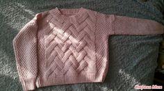 Всем странамамам привет! Вот и начинаем наш он-лайн проект по вязанию пуловера. Опрос проходил здесь.  Опрос в Стране Мам: Популярный пуловер с интересным рисунком (опрос на он-лайн)