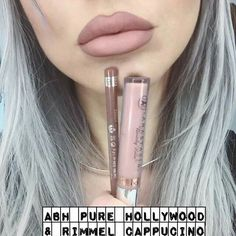 Rimmel Cappuccino & Anastasia Pure Hollywood
