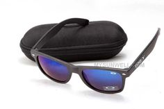 http://www.mysunwell.com/cheap-oakley-frogskins-sunglass-black-frame-blue-lens-discount-for-sale.html CHEAP OAKLEY FROGSKINS SUNGLASS BLACK FRAME BLUE LENS DISCOUNT FOR SALE Only $25.00 , Free Shipping!