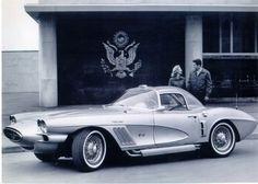 The 1958 Corvette XP-700