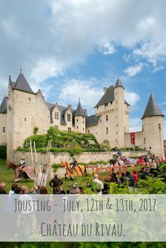 Next events in the castle and in Loire Valley - Château du Rivau My Dream Home, Castle, House Styles, My Dream House, Castles