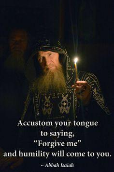 Acquire humility
