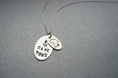 Inspired by life, love and passion, Gabi Klein started designing jewellery in 2009 with her keen eye for nature, geometric shapes and delicate feminine simpl. Africa Map, South Africa, Cape Town, Geometric Shapes, Hand Stamped, Dog Tag Necklace, Jewelry Design, Jewellery, Sterling Silver