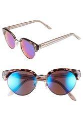 FE NY 'Villager' 50mm Sunglasses. Nordstrom's $22.00. Large glasses.