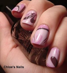 Water Marbling for Fingernails - be sure to use room temperature filtered water