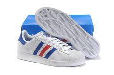 Adidas Originals Superstar II Trainer White Blue