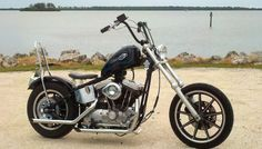 89 1200 Sportster chopper built by Dave johnson in clearwater Florida