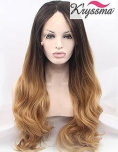 K'ryssma® Natural Looking Ombre Brown Wavy Wig Long Synth... https://www.amazon.co.uk/dp/B0172V9D7U/ref=cm_sw_r_pi_dp_vS0wxbP8G8CS3