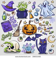 Find witch broom stock images in HD and millions of other royalty-free stock photos, illustrations and vectors in the Shutterstock collection. Cute Halloween Drawings, Halloween Rocks, Halloween Doodle, Cute Halloween Tattoos, Art Sketches, Art Drawings, Dessin Old School, Spooky Tattoos, Kawaii Doodles