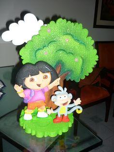 Light Goes Decorating: Dora la exploradora.