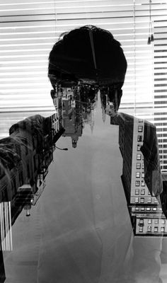 Self Portrait. New York City.