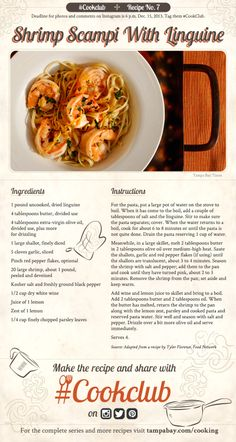 Catching up on all the lovely #cookclub recipes. One fan favorite so far, Shrimp Scampi with linguine. Molto bene