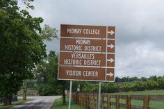 Kentucky Sign Post