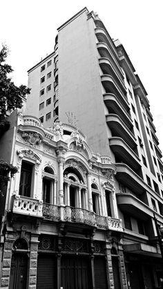 Casarão eclético, rua Florêncio de Abreu.