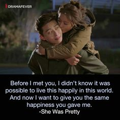 Catch up on the sweet romance She Was Pretty tonight! She Was Pretty Kdrama, Hwang Jung Eum, Korean Shows, Korean Drama Quotes, Drama Fever, Pretty Quotes, Korean Actors, Korean Dramas, Thai Drama