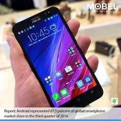 Report: #Android represented 87.5 percent of global #smartphone market share in the third quarter of 2016 http://cnb.cx/2eiF9TN