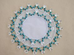 Crafts To Do, Bead Crafts, Diy Crafts, Beading Tutorials, Crochet Doilies, Beaded Embroidery, Seed Beads, Glass Beads, Pearls