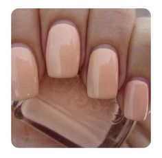 Essie nude colored nails