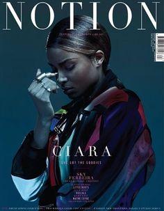 First Look: Ciara Covers Notion Magazine - VIBE Vixen