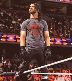 if I have to choose a wrestler.Seth Rollins is it. Seth Rollins Shirt, Wwe Seth Rollins, Seth Freakin Rollins, Wrestling Superstars, Wrestling Wwe, Wwe Tna, Aj Styles, Dean Ambrose, Wwe Wrestlers