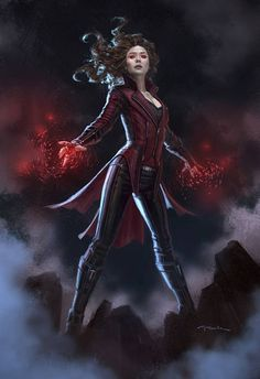 """avengers-of-the-galaxy: """" Scarlet Witch wears her classic headband in Captain America Civil War concept art """" Marvel Dc Comics, Marvel Avengers, Wanda Marvel, Marvel Girls, Marvel Art, Marvel Heroes, Marvel Characters, Marvel Concept Art, Spiderman Marvel"""