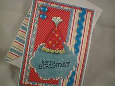 Birthday Hat Handmade Birthday Card