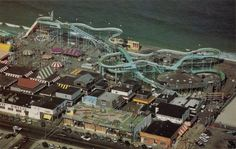 I miss the old Seaside Heights Log Flume, torn down in 1998.
