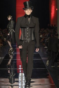 men in corsets and fine suits? YES PLEASE!!