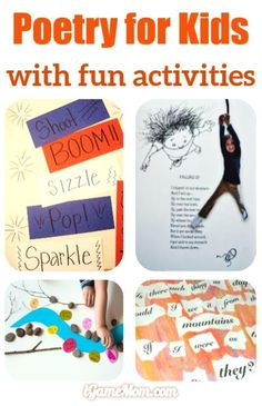 Enjoy Poetry for Kids with Fun Activities