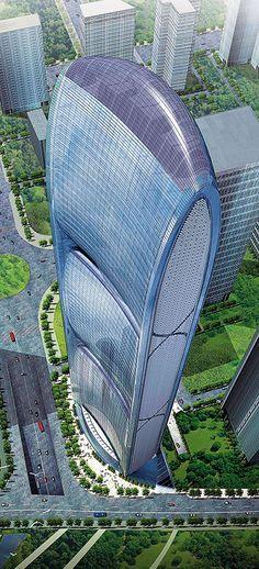 Energia Zero: Pearl River Tower - Guangzhou, China - Arcoweb