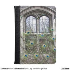 Gothic Peacock Feathers Photo Kindle Case