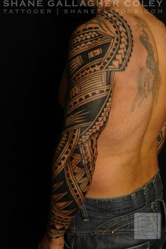 polynesian tattoos are