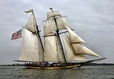 Another great shot of the gorgeous Pride of Baltimore II.