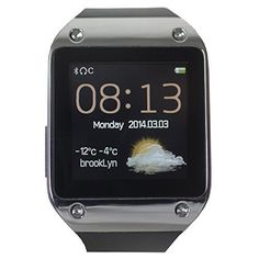 The Berowatch Air W2: A Smart Watch For All Android phones  #air #android #berowatch #phones #Smart #w2 #Watch MonitorWatches.com