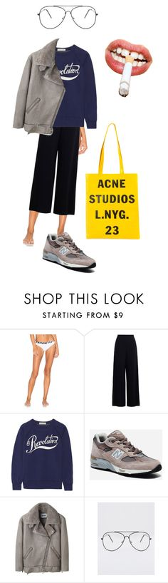 """Untitled #172"" by klara-engholm on Polyvore featuring Calvin Klein Underwear, Zimmermann, Étoile Isabel Marant, New Balance and Acne Studios"