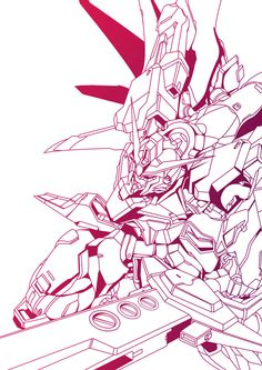 Gundam II by blazingwarlord Arte Gundam, Japanese Robot, Gundam Seed, Graphic Tees, Graphic Design, Dynamic Design, Mecha Anime, Mobile Suit, Robots