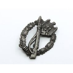 Infantry Assault Badge in Silver(Antique Finish)with LDO Box