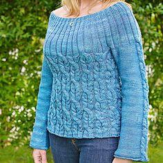 Ravelry: Hihira Pullover pattern by Tabetha Hedrick