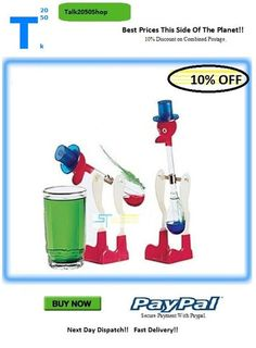 The Drinking Bird Perpetual Motion Device. Drinking Bird, Perpetual Motion, Stuff To Buy