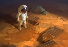 ArtStation - Martian, Ivan Khotenov