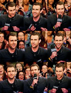 This is Matt Lewis aka Neville Longbottom. Why was I wasting my time on anyone else? He turned out handsome!