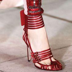 Sexy Open Toe Metal Buckles Stiletto Heels. Sandalo Con Cinghietta Caviglia Scarpe Alla ModaScarpe NikeScarpe Da DonnaSacchetto ... f39cb432385